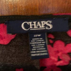 Dresses - MACYS 22W RED & BLACK LINED DRESS NWOT